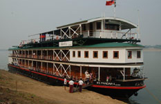 Pandaw on the Irrawaddy